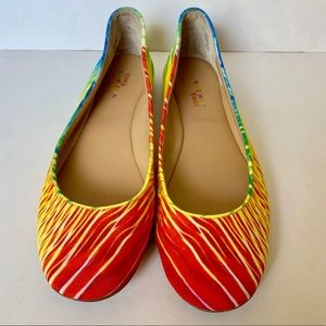 Nine West our love Brasil flats